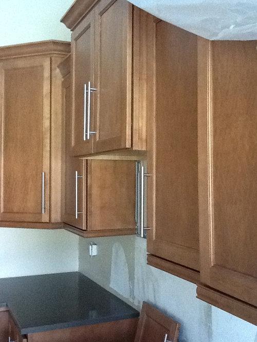 Kitchen Microwave Cabinet Mistake