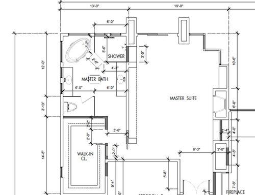 Dislike Our Master Bath And Walk In Closet Floor Plan Need Help