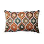 Flicker Jewel Rectangular Throw Pillow