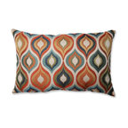 Flicker Jewel Rectangular Throw Pillow