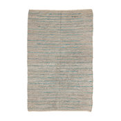 Natural Area Rugs Beckham Leather Rug, Eco Friendly, Imported, 8' X 10'