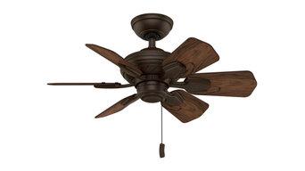 "Casablanca 31"" Wailea Brushed Cocoa Ceiling Fan"