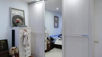 Шкаф купе в спальную комнату