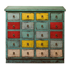 Elmwood Chinese Zen Chest of Drawers