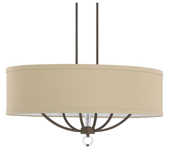 Capital lighting 4597bb 622 taylor 6 light island fixture burnished bronze