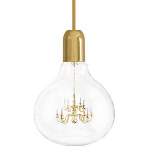 King Edison Pendant Lamp, Gold
