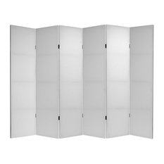 Oriental Furniture Diy Canvas Room Divider 6 Panels Screens And Room Dividers