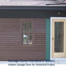 Custom Wood Garage Door Application