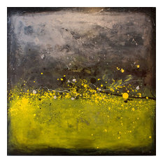 "Filippo Ioco ""Silver Citrus"", 72""x72"" Original on Canvas"