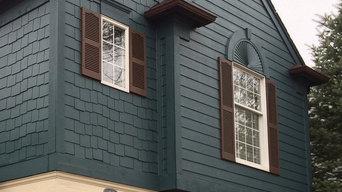 Exterior color change and restoration.