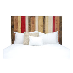 Handcrafted Headboard, Leaner Style, Fall Mix, Full