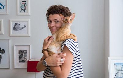Houzz в гостях: Хюгге, кошка по кличке Туве и лаконичные постеры