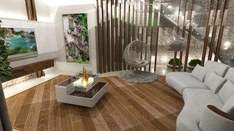 Дизайн-проект интерьера дома. г. Калининград