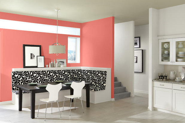 Best ways to use this coral color of the year - Best foyer colors 2018 ...