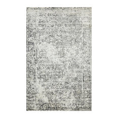 Royal Handmade Area Rug, Bone, 9'x12'