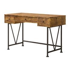 industrial desks | houzz