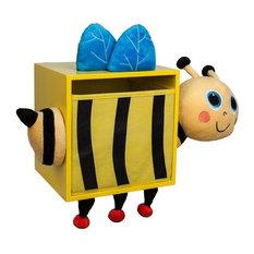 Bee Kids Wall Storage Bin