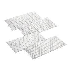 Cake Boss Quilt and Square 4 Piece Imprint Mat Set