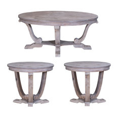 Liberty Furniture Graystone 3-Piece Occassional Table Set