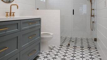 Bathrooms - Brass Hardware