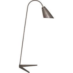 Stunning Contemporary Floor Lamps Rico Espinet Sawyer Floor Lamp Patina Nickel
