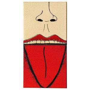 Tongue Ceramic Tile Mural, 2 Tiles