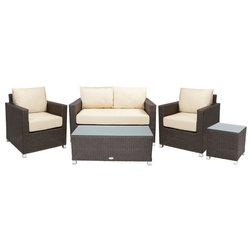 Stunning Transitional Outdoor Lounge Sets by Patio Heaven