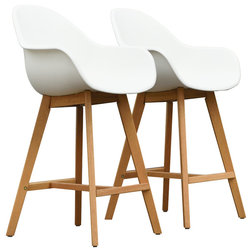 Midcentury Outdoor Bar Stools And Counter Stools by International Home Miami Corp
