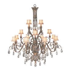Fine Art Lamps 136740-2ST A Midsummer Nights Dream Patina Chandelier