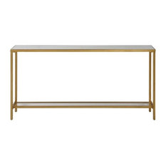 Maklaine Console Table in Gold