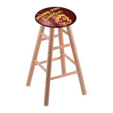 Arizona State Stool With Sparky Logo Natural