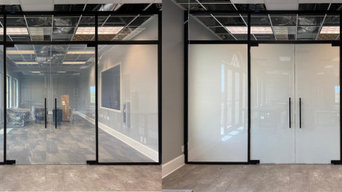 Smart Electrochromic Glass for a Conference Room