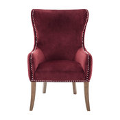 Hancock Button Tufted Back Accent Chair