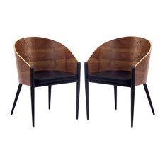 Modway Cooper Dining Chairs Set of 2 EEI-915-WAL