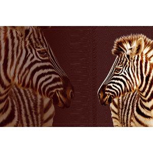 Zebra Gallery Door Mat, Large