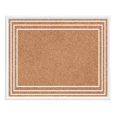 Cork Lines III Memo Board