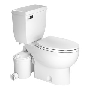 Sanicompact One Piece Dual 1 28 or 1 GPF Toilet With