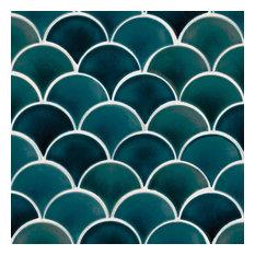 Azul Scallop 8Mm Porcelain Pattern Porcelain