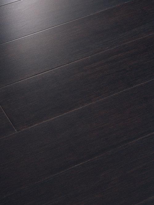 Teragren   Teragren Portfolio Colors, Strand Woven Bamboo, Midnight Black   Bamboo  Flooring
