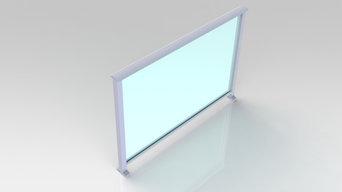 Aluminium & Glass balustrades