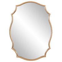Patton Decor 24x36 Gold Ornate Mirror