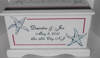 Nautical Wedding Keepsake chest