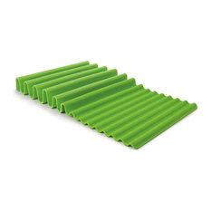Fusionbrands Waverack Dish Drying Rack, Green