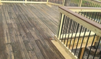 Moorseville, NC, deck makeover by Renew Crew!