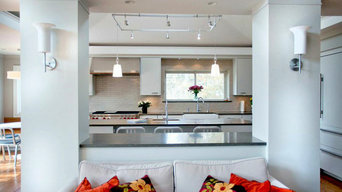 Sleek Comfortable Modern Kitchen