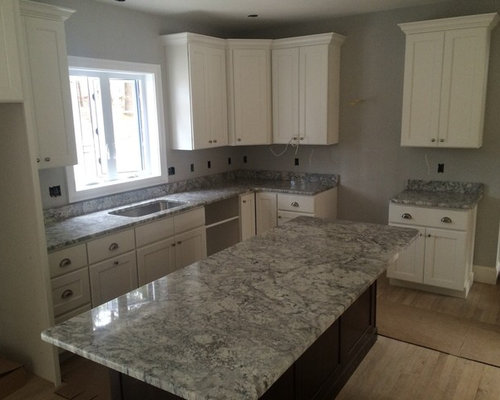 Thunder White Granite Tops