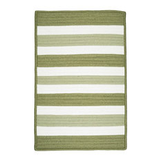 Colonial Mills   Colonial Mills Portico, Green, 12x12   Area Rugs