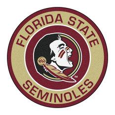 Florida State Seminoles Team Emblem Throw Rug