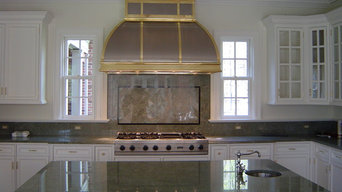 Stainless Hood, Brass Strapping