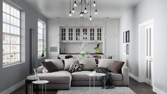 KITCHEN & LIVING ROOM | SWEET GRAY